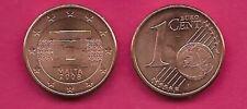MALTA 1 EURO CENT 2008 UNC DOORWAY,DENOMINATION AND GLOBE