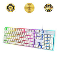 Wired Gaming Keyboard with LED Colorful Backlighting Elite Edition PC Laptop