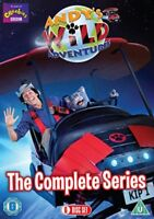 Andy's Wild Adventures The Complete Series 1 2 Region 4 DVD 6 Discs Andys