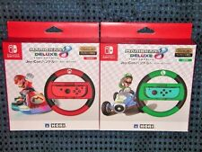 NEW Nintendo Switch Mario Kart 8 DX Handle for Joy-Con Mario Luigi SET JAPAN F/S