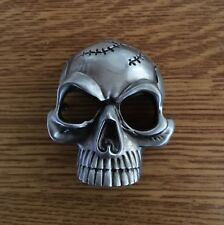 Boucle de ceinture Tête de mort Heavy Metal Punk Gotique Biker Hellfest e54f7296961