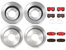 Front Rear Full Brembo Brake Kit Disc Rotors Ceramic Pads For LX570 Land Cruiser