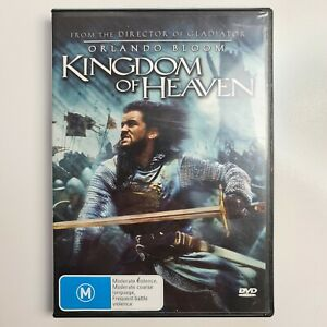 Kingdom of Heaven DVD - Orlando Bloom - Region 4 PAL - FREE TRACKED POST