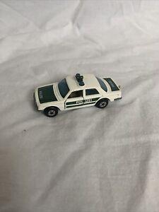 DTE GERMAN LESNEY MATCHBOX SUPERFAST 56-C HTF MERCEDES POLIZEI POLICE CAR
