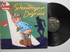 The Kinks POP ROCK LP (RCA AYLI 3749) Schoolboys In Disgrace VG+ STEREO