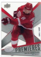 08-09 UPPER DECK ICE ROOKIE RC #167 JUSTIN ABDELKADER 081/499 RED WINGS *47990