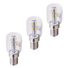 3x Mini LED Lampadina E14 EEK: A 90lm 275° 230V 1,1W Pera Kühlschrank-lampe