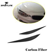 Carbon Fiber Headlight Cover Eyelids For BMW F32 F33 F36 F82 F83 M4 F80 M3 14-18