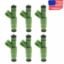 6 pc New Fuel Injector For Chrysler Town & Country Voyager 3.3 V6 0280156007 EV6