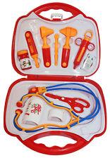 Arztkoffer für Kinder 11 Teile Puppendoktor Doktorkoffer Doktorspiele gross