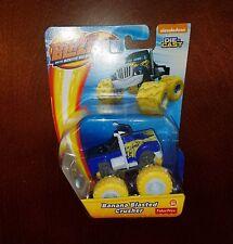 Blaze and the Monster Machines Banana Blasted Crusher Truck Die-Cast Vehicle New