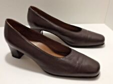 Dr Scholl's Pumps  Shoes Comfort Brown Back Guard Italy Size 40 US 9 Womans