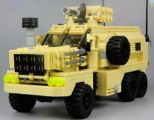 U.S. COUGAR 6x6 MRAP vehicle MENG SS Custom building toy fit w Lego minifigure