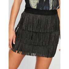 Vero Moda - Fringe Shake Skirt  Uk Medium Brand New