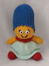 KNITTING PATTERN - Marge Simpson inspired chocolate orange cover / 18 cms toy