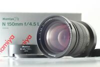 [Mint in Box w/ Hood] Mamiya N 150mm f/4.5 L MF Lens for Mamiya 7 7II JAPAN 204