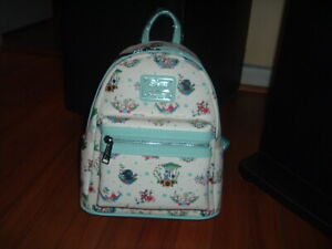 LOUNGEFLY DISNEY PRINCESS FLORAL COMPANION MINI BACKPACK~ WITH TAGS~BRAND NEW~