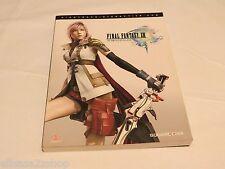 Final Fantasy XIII 13 complete game guide RARE Piggyback interactive book strat