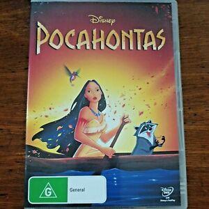 Pocahontas Disney DVD  R4 – VERY GOOD FREE POST