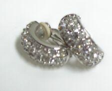 Swarovski Crystal Huggie Hoop Earrings