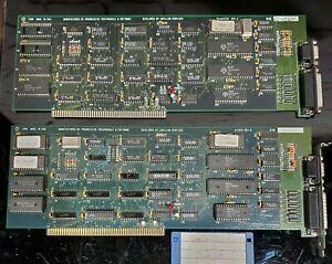 Commodore Amiga 2 X DoubleTalk Zorro Cards, Rev D & E, Untested, As-Is