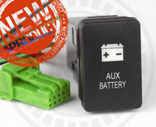 Mitsubishi TRITON MQ AUX Battery Switch Highest Quality Dual Amber LED's New