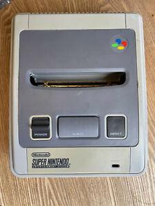 Super Nintendo SNES Grey Game Console