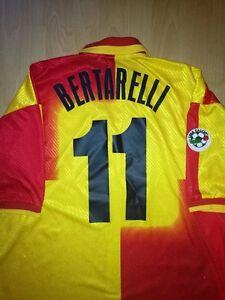 Mauro Bertarelli Ravenna Match Worn Vintage Football Jersey Calcio Maglia Rare