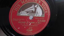 Arthur Rubenstein - 78rpm single 12-inch – His Master's Voice #D.B. 8329