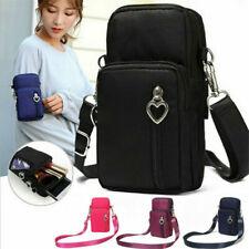 Damen kleine Umhängetasche Crossbody Handytasche Geldbörse Handy Mini-Tasche