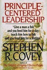 Principle-Centered Leadership Covey, Stephen R. Hardcover