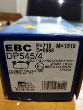EBC ultimax  brake pads DP545/4-Citroen Ax/Zx-Peugeot 106Van/306 bendix