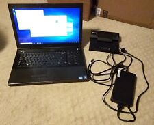 "Dell Precision M6600 17"" i7-2720QM NVIDIA Quadro Bluray Burner 8GB RAM 480GB SSD"