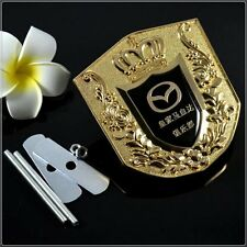 Car Front Grille Modified Emblem Badge Decal Sticker for Mazda 3 5 6 MX-5 CX5