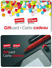 Gift Cards STAPLES 💻🪑🖶 BUSINESS DEPOT BUREAU EN GROS Canada Collectible Card For Sale