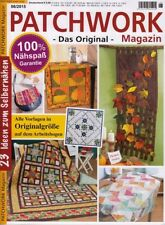 Patchwork Magazin 06/2015 Herbst / Winter