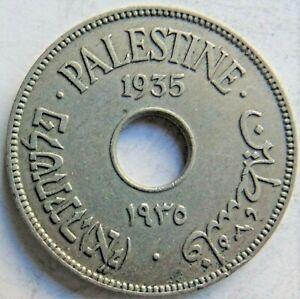 1935 PALESTINE, 10 MILS, grading VERY FINE.