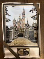 NEW Vintage Disneyland Tray Gift Houze Art Cinderella's Castle NOS Walt Disney