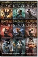 Mortal Instruments & Infernal Devices Cassandra Clare Collection 9 Books Set NEW