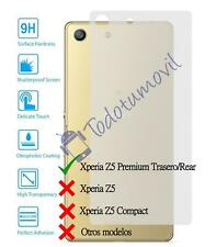Tempered glass screen protector film for Sony Ericsson Xperia Z5 Premium Rear