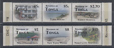 Tonga Sc 1177 MNH. 2012 First Anniversary of Democracy, Strips from S/S