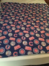 """Chicago Cubs Throw Blanket, 5' by 4'6"""", Soft and Comphy, Excellent, great gift"""