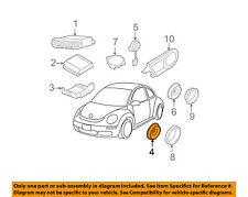 VW VOLKSWAGEN OEM 99-05 Jetta Stereo Audio Radio-Front Door Speaker 1J0035411G