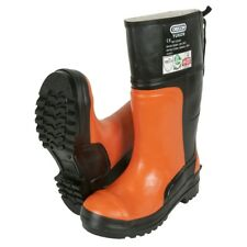 KWF fpa Oregon corte protección botas Yukon II en 345 clase 3 Orange botas de goma