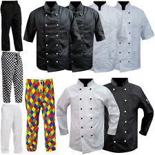 Chef Jackets - Chef Trousers Clothing Full / Short Sleeves & Mesh Back Uniform