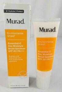 Murad Environmental Shield Essential C Day Moisture SPF 30 1.7oz 50ml Exp 3/2022