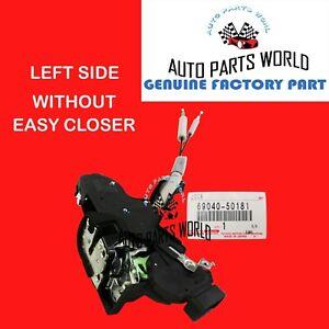 GENUINE LEXUS LS430 DRIVER DOOR ACTUATOR LOCK WITHOUT EASY CLOSER 69040-50181