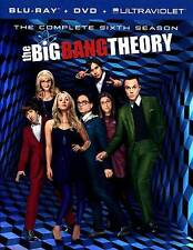 THE BIG BANG THEORY: THE COMPLETE SIXTH SEASON NEW REGION B BLU-RAY