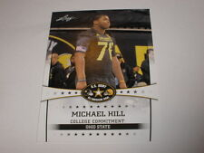 2013 Leaf US Army All American Bowl 72 Michael Hill OHIO STATE