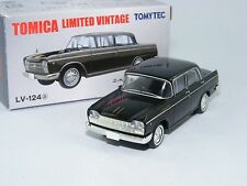 Nissan Cedric Custom in schwarz,Tomica Limited Vintage LV-124a, 1/64